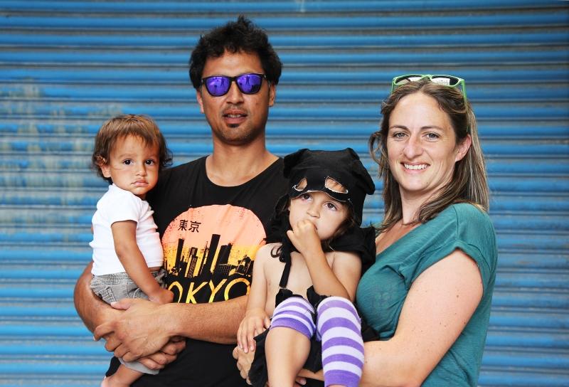 Locals: Nat, Brian + kidsFactory JamImage: Janet Lilo